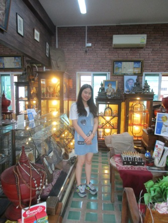 Silver shop owner in Chiang Mai