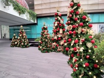 Decorated for Christmas at the Emporium Shopping Centre in Bangkok