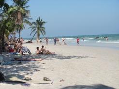 Beach at Hua Hin