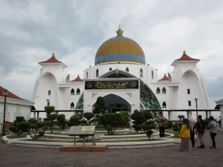 The Straits of Melaka Mosque