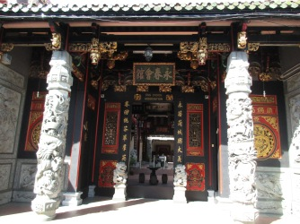 Entrance to a Chinese temple