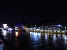 The Melaka River at night