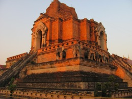 Chedi Luang, the oldest wat in Chiang Mai