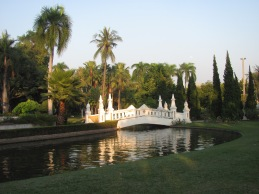 A park in Chiang Mai