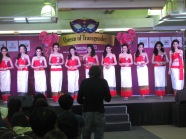 Final contestants for the Lady Boy pageant