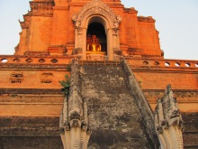 Chedi Luang- one of the oldest wats in Chiang Mai.