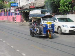 Tuk tuks also spew too much exhaust.