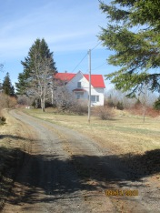 Century home and land available for sustainable farming.