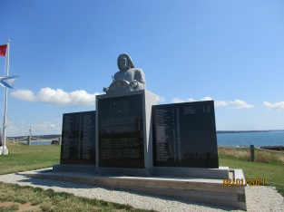 Monument to the fishermen.