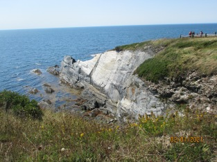 A stunning cliff at St.Mary's